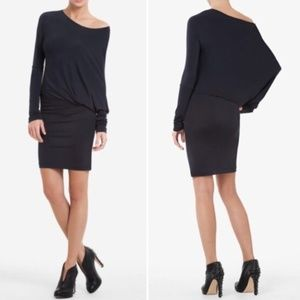 "BCBG ""Laheld"" Side-Draped Tunic Dress - XXS - NWT"